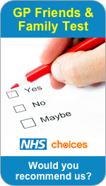 Would you recommend Moss Street Surgery to Friends and Family?