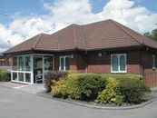 Moss Street Surgery at Chadsmoor in Cannock, Staffordshire